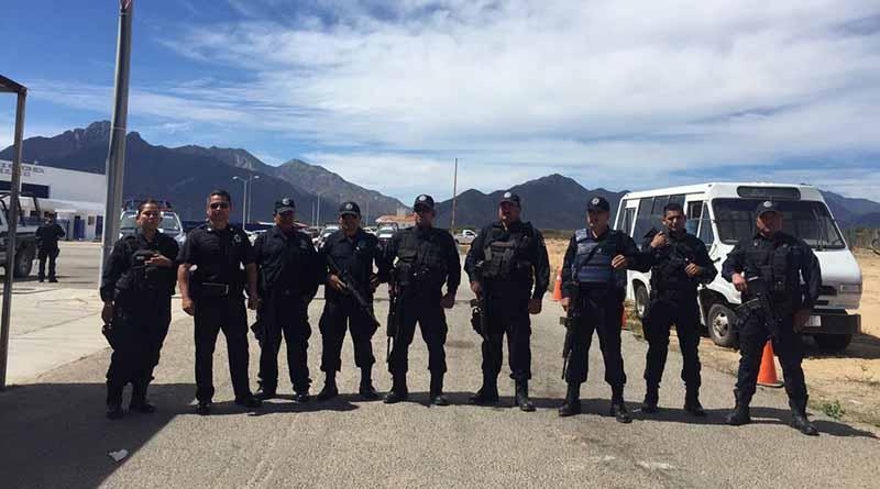 Policías Estatales del CERESO protestan por incumplimiento de pagos salariales