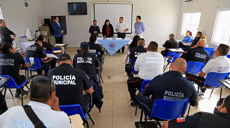 40 Policías de Los Cabos son capacitados en materia de derechos humanos