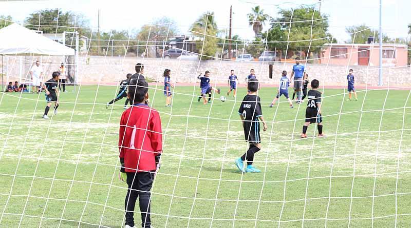 Se realizan actividades deportivas, en marco de Las Fiestas Tradicionales San José 2018