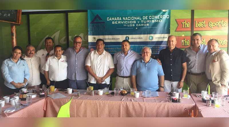 Reeligen a Ignacio Labandeira como presidente de Canaco Los Cabos para el periodo 2018-2019