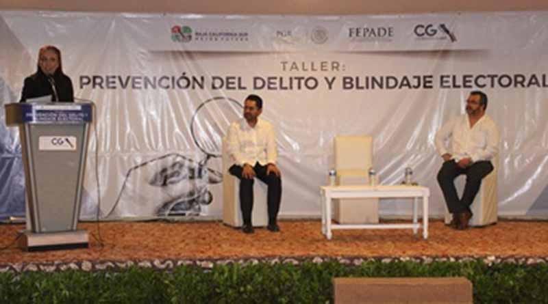 """Realiza contraloría taller """"Prevención del Delito y Blindaje Electoral"""""""