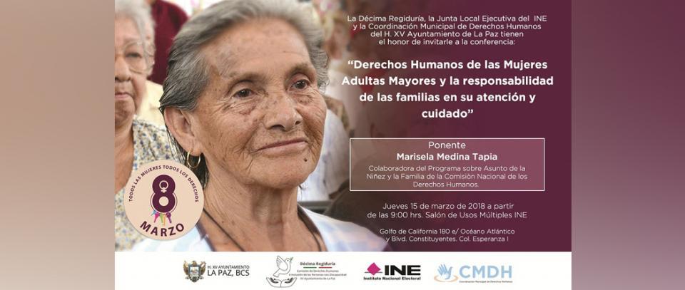 Invita Ayuntamiento de La Paz a conferencia sobre Derechos Humanos