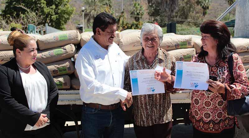 Alcalde de La Paz y Gobernador del Estado realizan gira de trabajo por la zona rural