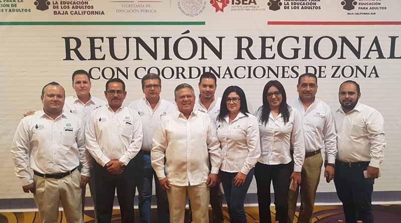 Participa BCS en Reunión Regional del Instituto  Nacional de Educación para Adultos