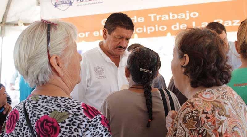 Seguimos trabajando en atender cada colonia de la ciudad, Alcalde de La Paz