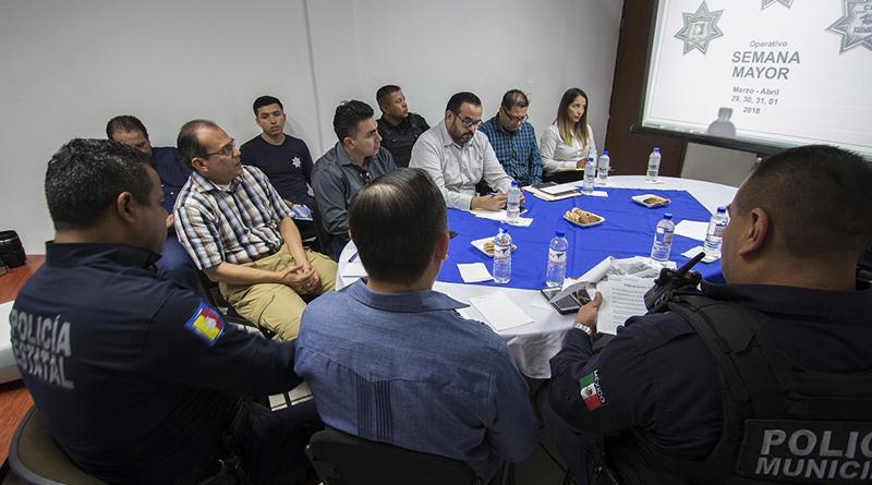 Policía Municipal listos para operativo de semana mayor