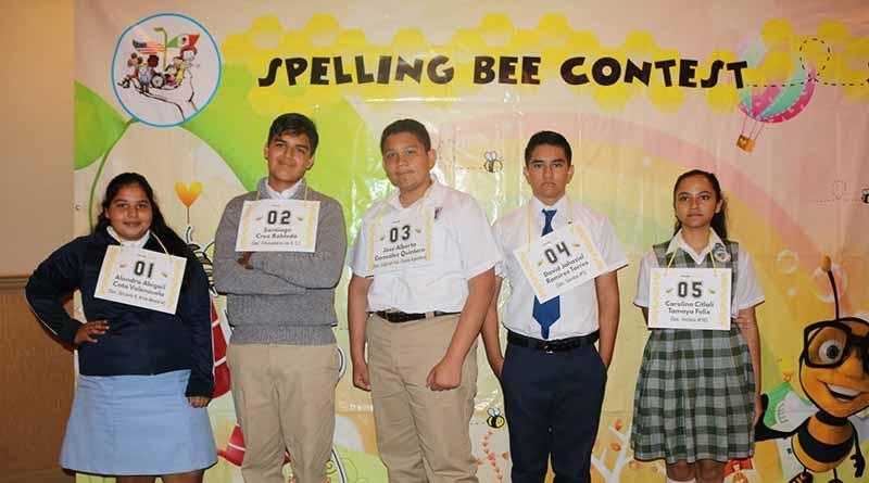 """Participan 60 alumnos en el quinto certamen """"Spelling Bee"""" de deletreo en ingles: SEP"""