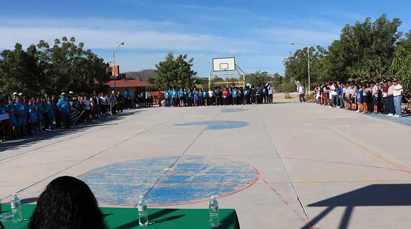 Participan alumnos de 11 planteles en el inter telesecundarias zona La Paz-Sur: SEP