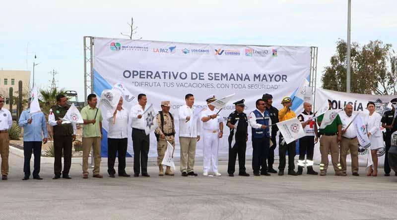 Inicia Operativo Interinstitucional Semana Mayor