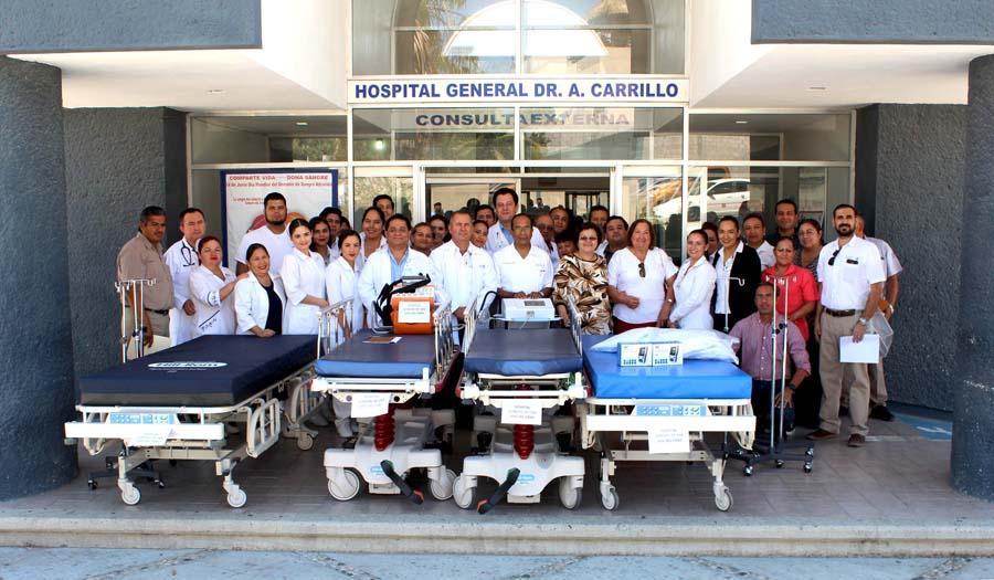 Alrededor de 15 millones de pesos en equipamiento recibieron unidades estatales de salud