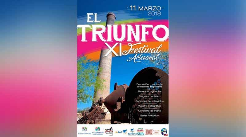 Invitan al XI Festival Artesanal El Triunfo 2018