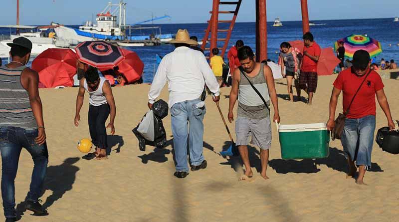 Trabajan 146 elementos de ZOFEMAT en Playas de Los Cabos