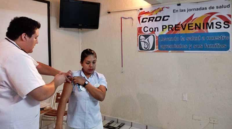 Acciones de Salud de la CROC impactan en más de 5 mil trabajadores en Los Cabo