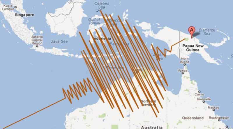 Reportan fuerte sismo de magnitud 6.6 en Papúa Nueva Guinea