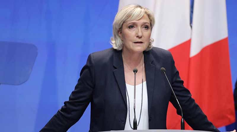 Reeligen a Marine Le Pen presidenta del partido ultraderechista francés