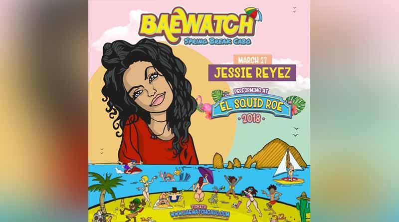 Hoy martes 27 de marzo en el Squid Roe, Jessie Reyez, ¡en vivo!