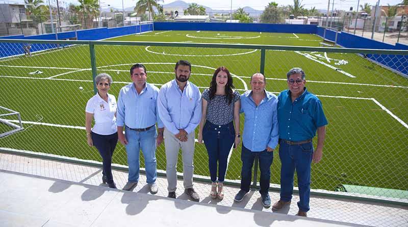 Cientos de familias disfrutarán del nuevo Parque Deportivo Integral