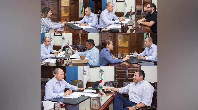 Revisa encargado del despacho de presidencia, condiciones de direcciones del XII Ayuntamiento