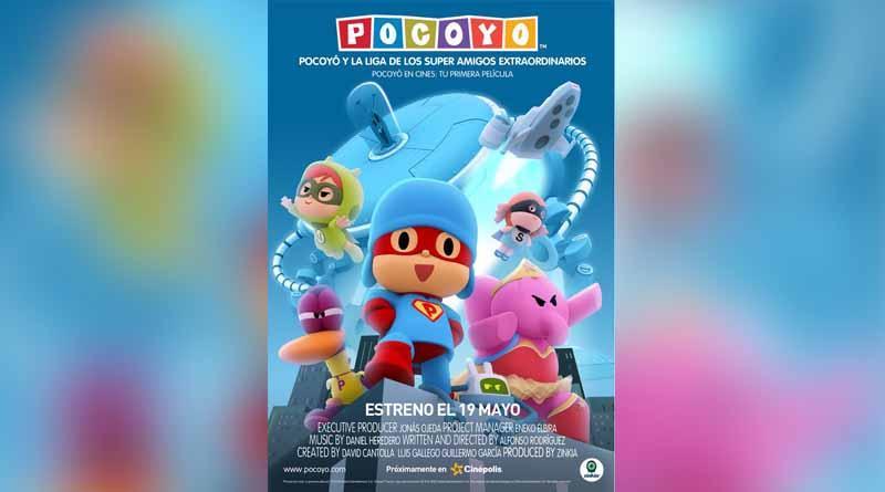 Pocoyó se estrena en cines el 11 de mayo