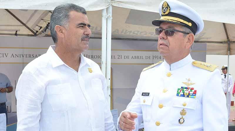 Reconoce Diputado Francisco Javier Arce Arce labor de la Secretaría de Marina en BCS