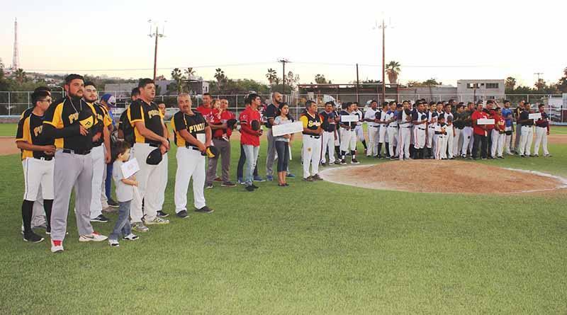 Se inauguró la Liga Municipal de Beisbol de Primera Fuerza