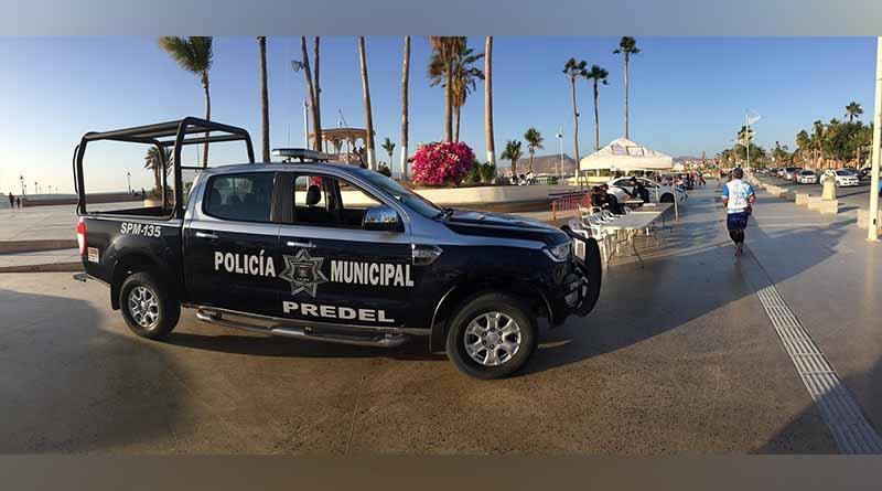 Instala Policía Municipal Módulo de Información