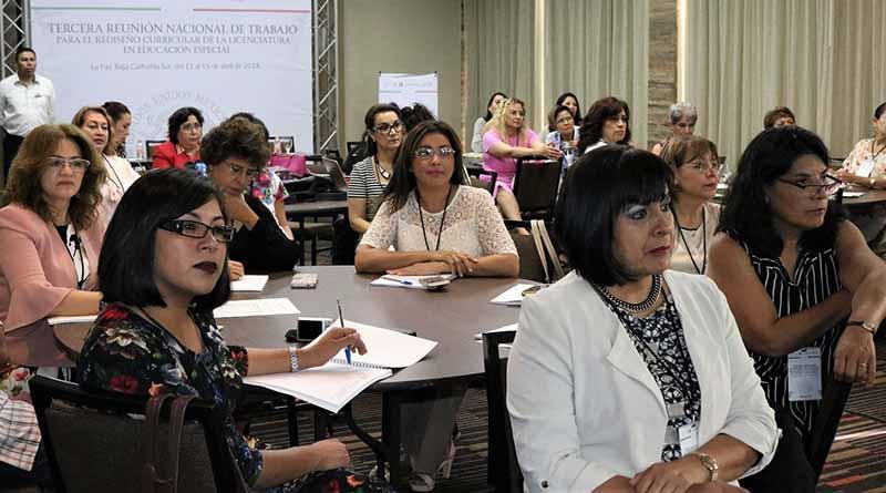 Rediseñan Normales del país en BCS plan de estudios de Educación Especial: SEP
