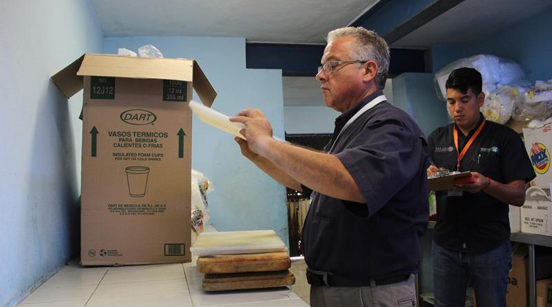 Realiza COEPRIS verificaciones sanitarias en el centro penintenciario de La Paz