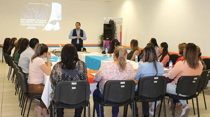 Enlaces de Género toman curso de capacitación en Lenguaje Incluyente