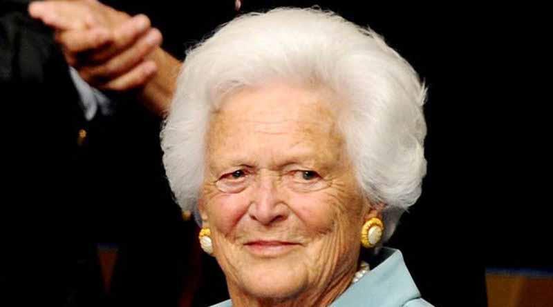 Muere exprimera dama de Estados Unidos Bárbara Bush a los 92 años
