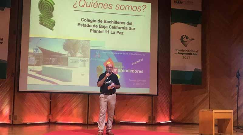 Participa COBACH por el premio Nacional del Emprendedor