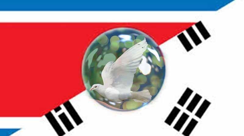 Acuerdan las dos Coreas desnuclearización y la paz permanente