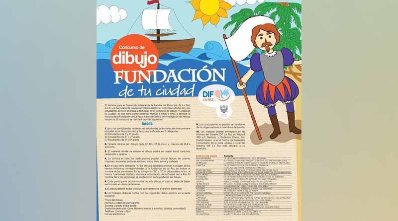 """Concluirá convocatoria de dibujo """"Fundación de tu Ciudad"""""""