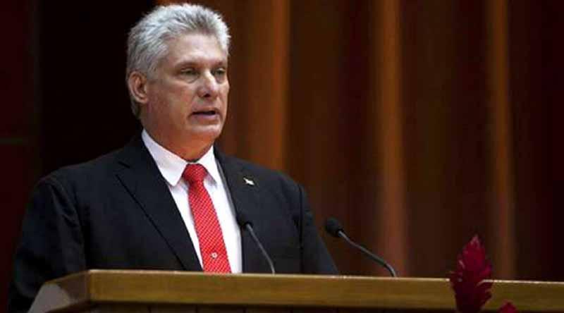 Díaz-Canel es electo como nuevo presidente de Cuba