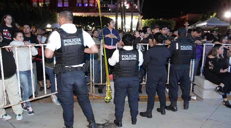 Vigilara Policía Municipal las Fiestas de Fundación de La Paz