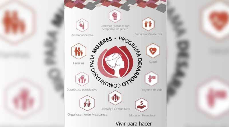 El IMMLC invita a formar parte del Programa Desarrollo Comunitario para Mujeres