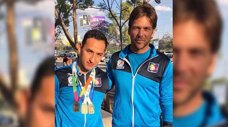Logra Luis Andrade 3 Oros en Nacional y pasa a la Serie Mundial