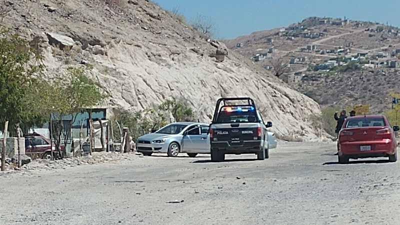 Hubo persecución entre pistolero y policías en La Paz