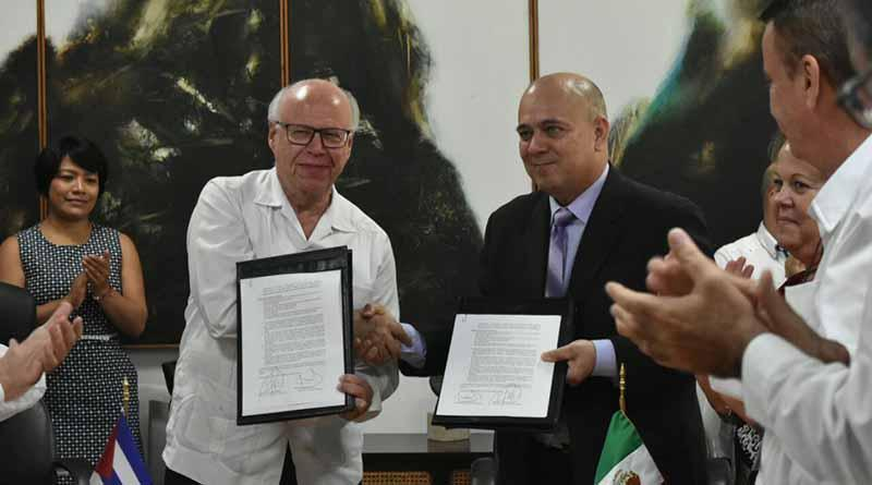México y Cuba fortalecen lazos en materia de salud