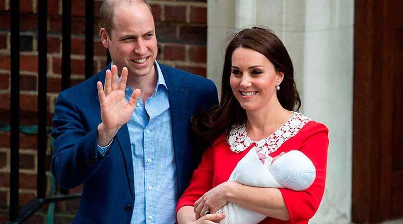 Tercer hijo de duques de Cambridge se llama Luis Arturo Carlos
