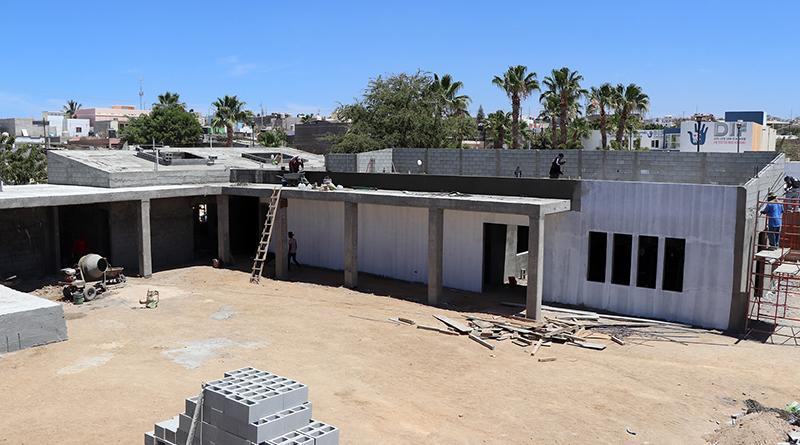 Centro de inclusión en Cabo San Lucas, en su etapa final de construcción