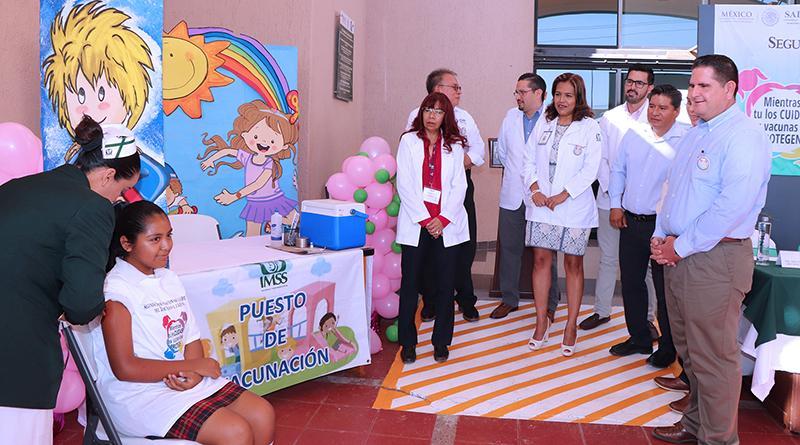 Inicia en Los Cabos la segunda Semana Nacional de Vacunación