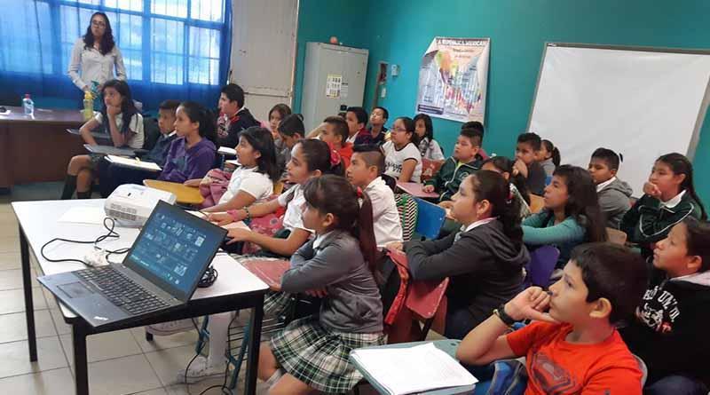 Servicios Públicos concientiza a niños del municipio