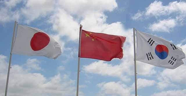 Japón, Corea del Sur y China dispuestos a finalizar acuerdo comercial