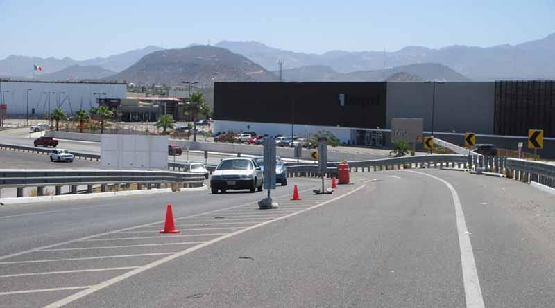 Anuncian cierre de vialidades en La Paz