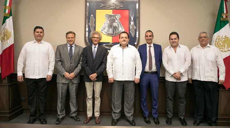 Se reúne gobernador con embajador de Italia en México