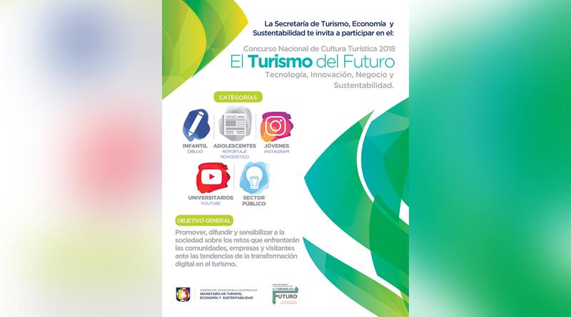 """Invita estado a participar en Concurso Nacional """"El Turismo del Futuro"""""""