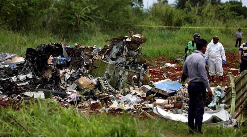 Expertos cubanos siguen con investigación tras desastre aéreo
