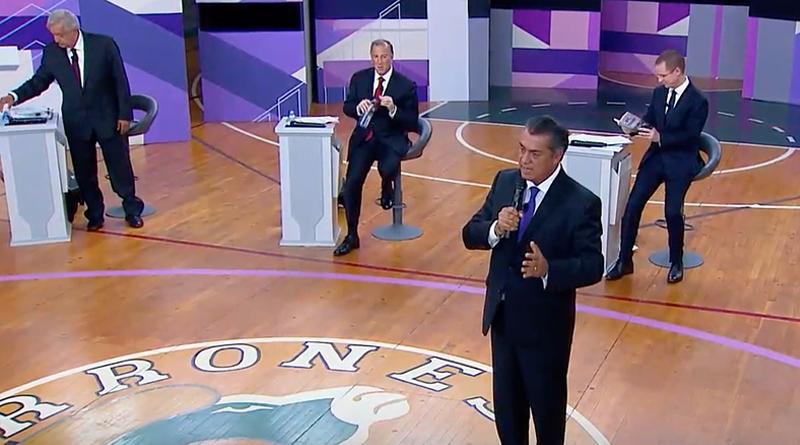 Moderadores no usaron tiempo de candidatos en segundo debate consejero