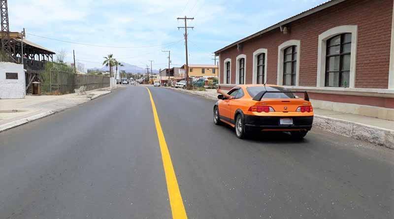 Concluyen trabajos sobre el acceso norte a Santa Rosalía